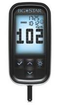 The sanofi-aventis BG Star blood glucose monitor